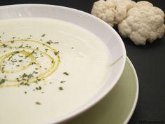 Crema ligera de coliflor - MisThermorecetas.com