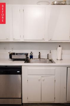 Before & After: A Small Change, Big Impact Rental Kitchen Upgrade