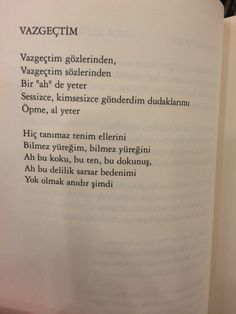Vazgeçtim my favorite The Words, Film Books, Music Film, Song Lyrics, Karma, Quotations, Poems, Sad, Feelings