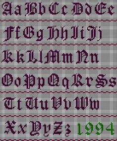 Bron: www.needlework.com/old-english-alphabet/