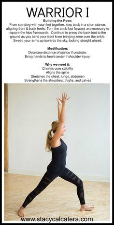 #stacycalcatera #warrior1 #yoga