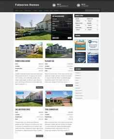 This free WordPress real estate theme comes with a minimalist design, custom post types, taxonomies, meta boxes, and menus, featured thumbnails, a widgetized sidebar, and more.