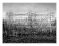 Buckingham Palace, London, 2012 - © Idris Khan - digital silver bromide print mounted on 4 ply museum board and Dibond image Institute Of Contemporary Art, Museum Of Modern Art, Photography Themes, Street Photography, Urban Photography, Abstract Photography, Idris Khan, Hayward Gallery, Multiple Exposure