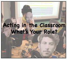Performing in the Classroom: Effective Role-Play for Learning: As we all grew up watching movies, we dreamed of stepping into the roles that filled the screens. Of course, I wanted to be Baby, dancing with Johnny and defying my parents to have the summ Teaching Strategies, Teaching Tools, Teaching Resources, Teaching Ideas, Classroom Community, Ela Classroom, Classroom Ideas, Classroom Organization, Organization Ideas