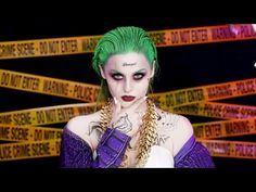 Joker Suicide Squad Makeup Tutorial - YouTube
