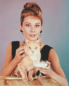 """AUDREY HEPBURN, 1961 