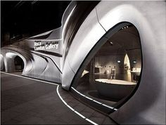 Zaha Hadid | Stirling Prize #2 for the Roca London Gallery project