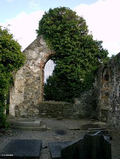 Ireland In Ruins: St John The Baptist Church Clontarf Co Dublin. Hidden ruins behind a very fancy renovated castle/hotel.