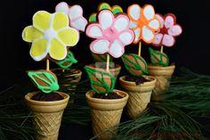 Turta dulce - CAIETUL CU RETETE Planter Pots, Blog, Sweets, Blogging