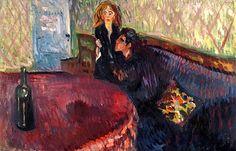 Desire, Edvard Munch - 1907