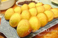 Cornbread Muffins / Pan de Maíz