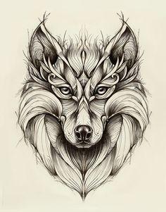 Wolf on Behance Plus