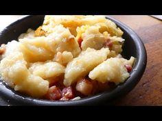 Kluski szare - YouTube Mashed Potatoes, Macaroni And Cheese, Pierogi, Ethnic Recipes, Youtube, Food, Meal, Whipped Potatoes, Mac And Cheese