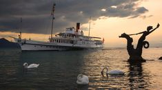 Vevey, Weather Forecast, Switzerland, Images, Photos, Holiday Posters, Boats, Painting, Alps