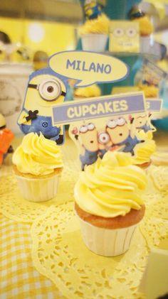 Despicable Me Party/ candy bar /cupcakes