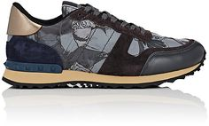 Valentino VALENTINO MEN'S BUTTERFLY ROCKRUNNER SNEAKERS
