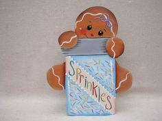 HP Gingerbread Shelf Sitter - Cookie Sprinkles