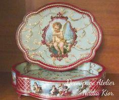 made by Decoupage Atelier - Nadia Kior Decoupage, Decorative Plates, Home Decor, Art, Atelier, Art Background, Decoration Home, Room Decor, Kunst