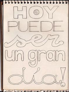 Trabajo para hoy, escribe 1000 veces… #BuenosDias Vía www.lavidalalala.blogspot.com.es Recuerda tú te encargas de la #creatividad, nosotros de la #impresion www.bramona.com