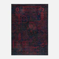 Kennedy Rug 7'10x9'10 Raspberry now featured on Fab.