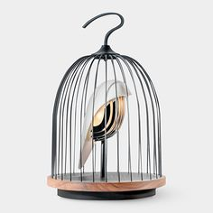 Birdcage Speaker Light | MoMAstore.org -- beautiful design!