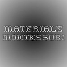 materiale montessori