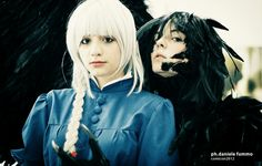 Howl and Sophie Cosplay   ☆ Howl's Moving Castle  (  ハウルの動く城  )☆ Hayao Miyazaki (  宮﨑 駿  )