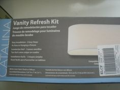 Vanity Light Refresh Kit Delectable Bathroom Vanity Light Refresh Kit I Think I Can Make My Own And Decorating Inspiration