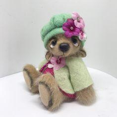 Florence x Teddy Bears, Felting, Florence, Sweet, Handmade, Animals, Candy, Hand Made, Animales
