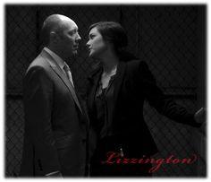 """The Blacklist - TV Série - Raymond """"Red"""" Reddington ( James Spader ) - Elizabeth Keen ( Megan Boone ) - Liz - Lizzie - Red and Lizzie"""