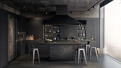 Design at Sketch | CGI Studio | BLACK KITCHEN