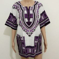 New Summer Style Dashiki Dress Fashion Women Traditional African Print Short Sleeve Party African Dress Plus Size Clothing