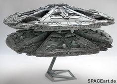 Battlestar Galactica: Cylon Base Star Display Model, Fertig-Modell ... http://spaceart.de/produkte/bsg003.php please repin!