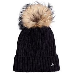 Bogner Leonie Ski Hat (4.695 CZK) ❤ liked on Polyvore featuring accessories, hats, bogner hat, bogner, watch cap, ski cap and bobble hat