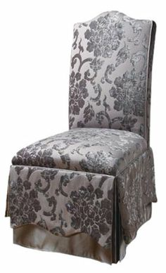 Rosalie Side Chair / That would be pretty upholstery for a chair cover