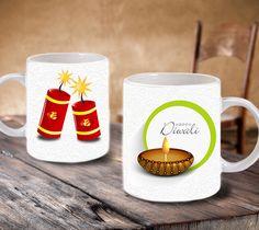 Diwali Personalized Coffee Mug http://www.giftstrend.com