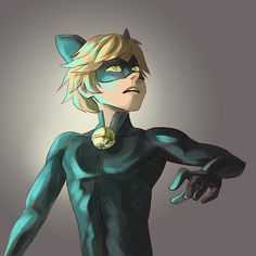 This dorky cat child is gonna slay my feelings, I JUST KNOW IT. - Miraculous Ladybug Cat Noir/Chat Noir