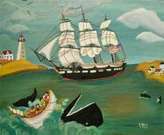 American folk art.  Sharon Eyres