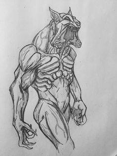 Reaper Lycan WIP by Arrancarfighter