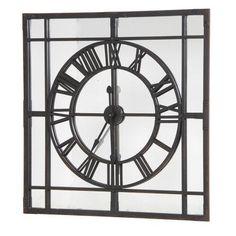 Mirrored Wall Clock mirrored wall clocks large | clocks | pinterest | mirror wall
