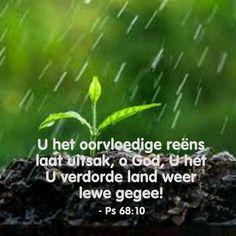 #Gebed#reën Oh Beautiful, Christian Messages, Love Rain, Morning Messages, Afrikaans, Rainy Days, Spirit, Van, Nature