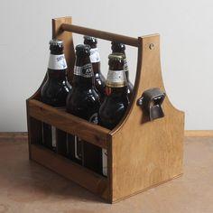 Vintage Beer Carrier · 6 Bottle · | Beer Carriers | Yester Home