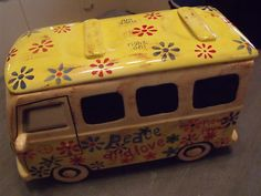 "Cookie Jar""Hippy Bus"