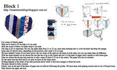 Tutorial: One block a week #quilt #patchwork #block #tutorial
