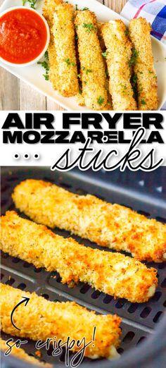 BEST AIR FRYER MOZZARELLA STICKS RECIPE