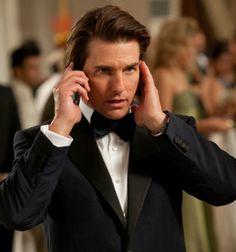 Tom Cruise as Ethan Hunt in Mission: Impossible Ghost Protocol Ethan Hunt, Logan Lerman, Katie Holmes, Nicole Kidman, Amanda Seyfried, Tom Kruz, Mission Impossible Ghost, I Movie, Movie Stars