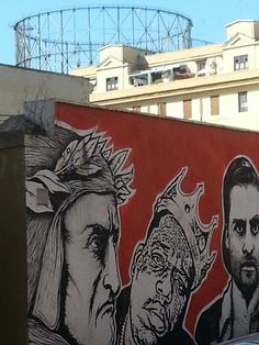 Gasometro and the art street near our holiday apartment #gasometro
