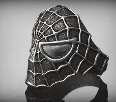 Biker Rings, Jewelry Shop, Spiderman, Sci Fi, Rings For Men, Marvel, Etsy Shop, Fantasy, Superhero
