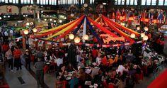 Donde Augusto, Mercado Central. Santiago, Chile.