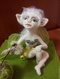 Купить Фея Одуванчиков - комбинированный, фея, Цветочная фея, одуванчики, игрушка ручной работы